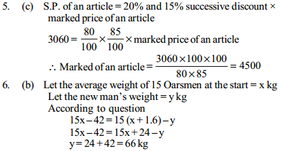 Profit and Loss Questions for SBI Clerks 7