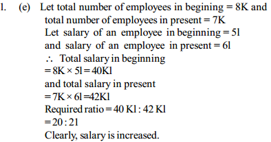 Ratio and Proportion Questions for SBI Clerk 3