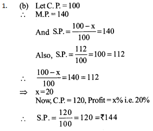 Ratio and Proportion Questions for SBI PO 2