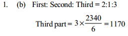 Ratio and Proportion Questions for SBI PO 23