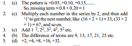 Series Questions for IBPS Clerk 14