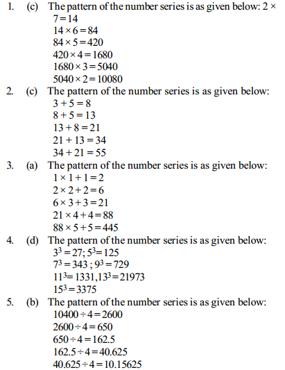 Series Questions for IBPS Clerk 25