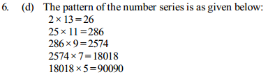 Series Questions for IBPS Clerk 26