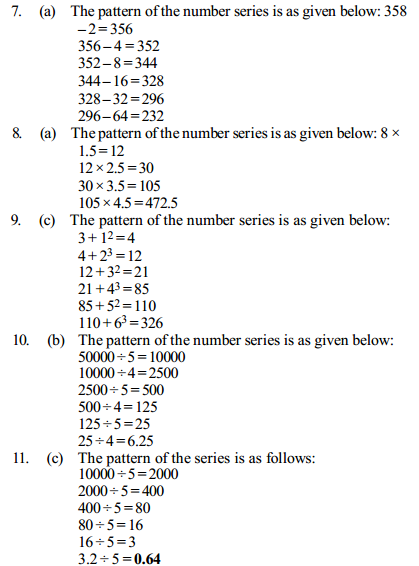 Series Questions for IBPS Clerk 27