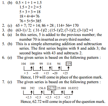 Series Questions for IBPS PO 14
