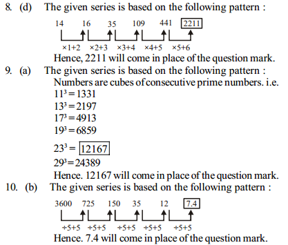 Series Questions for IBPS PO 15