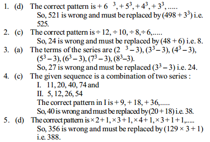 Series Questions for IBPS PO 17