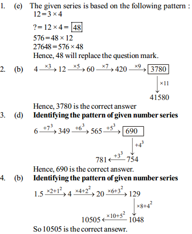 Series Questions for IBPS RRB 19