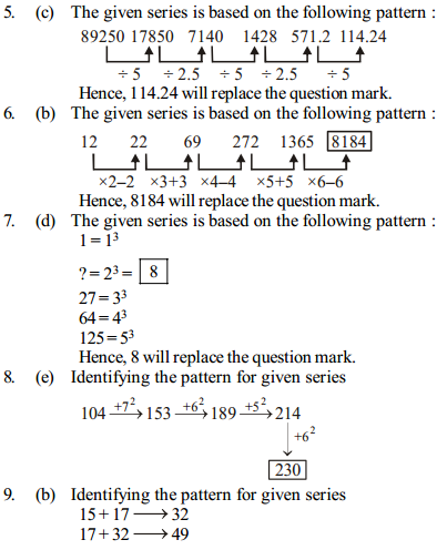 Series Questions for IBPS RRB 20