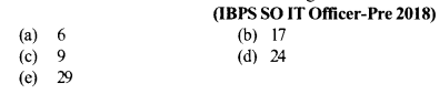 Series Questions for IBPS SO 2