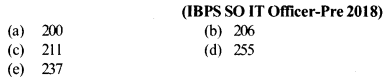 Series Questions for IBPS SO 4