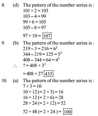Series Questions for SBI Clerk 23