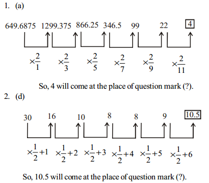 Series Questions for SBI Clerk 3