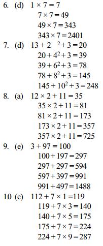 Series Questions for SBI Clerk 7