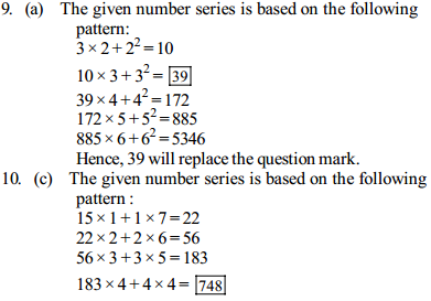 Series Questions for SBI PO 11