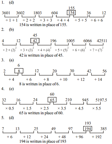 Series Questions for SBI PO 13