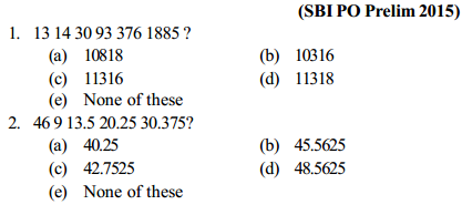 Series Questions for SBI PO 6