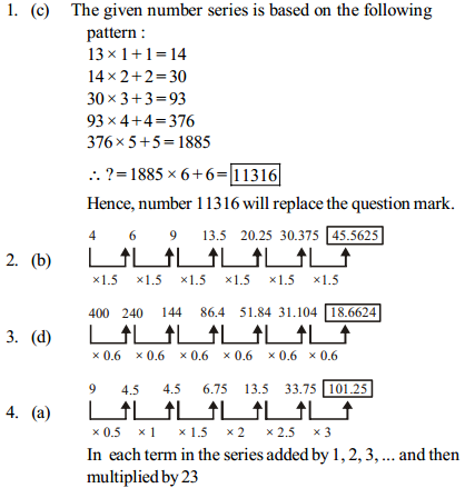 Series Questions for SBI PO 8