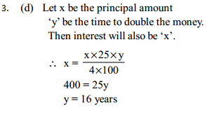 Simple Interest and Compound interest Questions for SBI Clerk 9