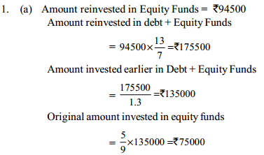 Simple Interest and Compound interest Questions for SBI PO 10