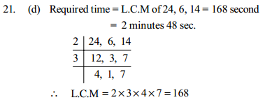 Time, Speed and Distance Questions for IBPS Clerk 24